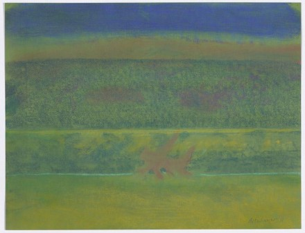 Richard Artschwager Landscape with Purple Bushes 2011