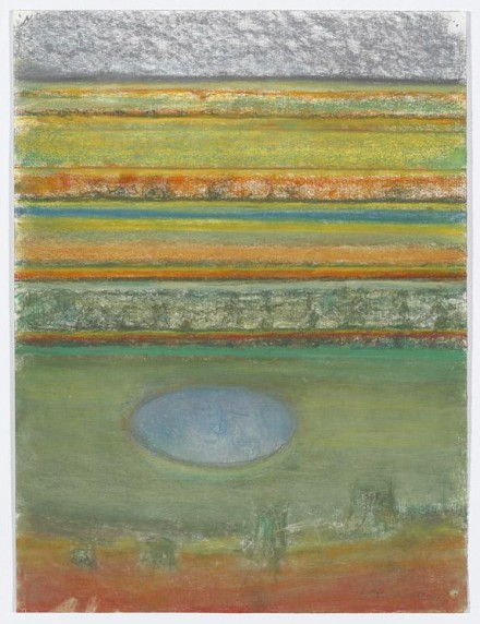 Richard Artschwager Landscape with Round Pond 2011