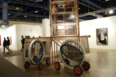 Sadie Coles, Spartacus Chetwynd, The Folding House (2010)