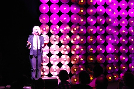 Sia performs live