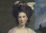 Sir Joshua Reynolds Portrait of Elizabeth, Lady Forbes (detail), courtesy Christies