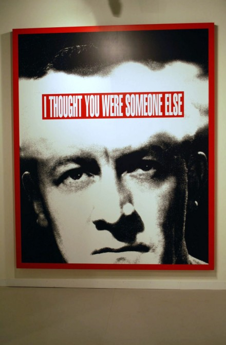 Skarstedt Gallery, Barbara Kruger Untitled (I Thought You Were Someone Else) (2008)