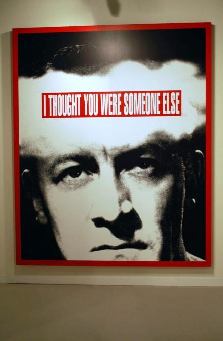 Skarstedt Gallery, Barbara Kruger Untitled (I Thought You Were Someone Else) (2008)