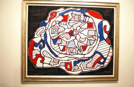 The Pace Gallery, Jean Dubuffet, Pendule IV (Flamboiement de l'heure) (1966)
