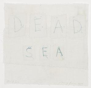 Tracey-Emin-White-Cube-Dead-Sea-2011