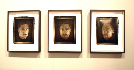 Two Palms, Art Kabinett-Chuck Close, Brad (2012)x3