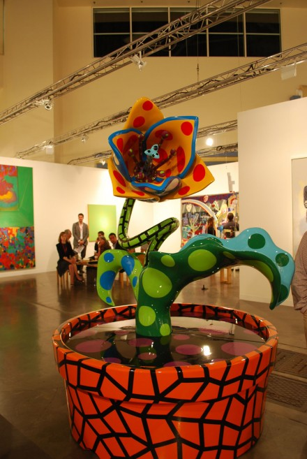 Victoria Miro, ABMB. Yayoi Kusama Tulip with All My Love (2011)