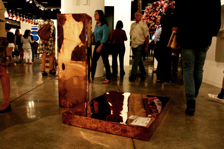 Walead Beshty - Copper FedEx Large Framed Art Boxes - Regen Projects