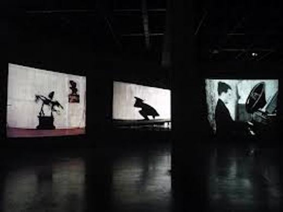 William kentridge, Tate Modern, installation view jpg
