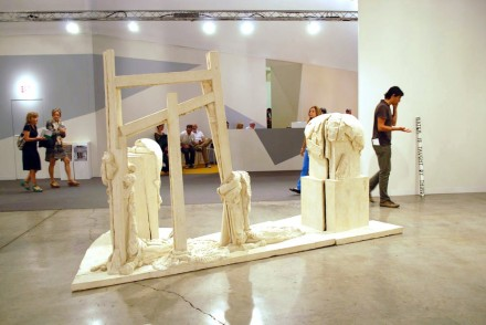 Xavier Hufkens, ABMB. Thomas Houseago, Yet to be titled (2012)