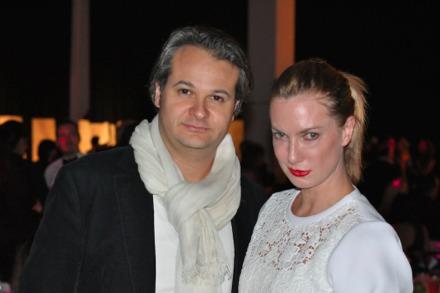 Patrons Yan Assoun and Polina Proshkina
