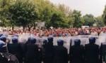 Battle of Orgreave re-enactment organised by Jeremy Deller, via Artangel