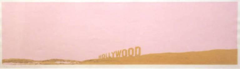 Ed Rushcha, Caviar Hollywood (pale beige) (1971),via Bernard Jacobson