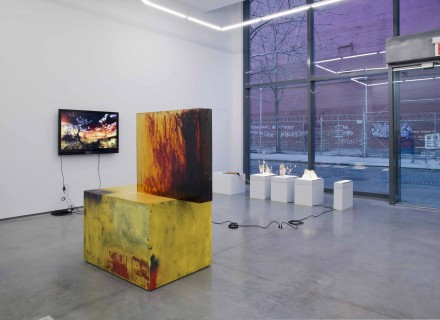 Black Cake, Installation view at 47 Wooster Street, Courtesy of Team Gallery, New York
