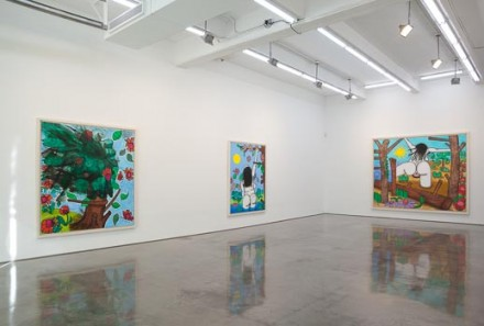 Carroll Dunham at Gladstone Gallery (Installation View)