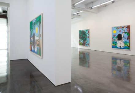 Carroll Dunham at Gladstone Gallery, (Installation View)