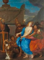 Charles Le Brun's The Sacrifice of Polycena, via New York Times