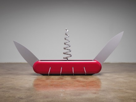 Claes Oldenburg and Coosje van Bruggen, Knife Ship 1-12 (2008), via PKM Gallery