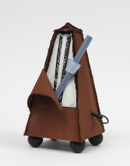 Claes Oldenburg and Coosje van Bruggen, Silent Metronome, 16 inch, Version Three (2005), via PKM Gallery