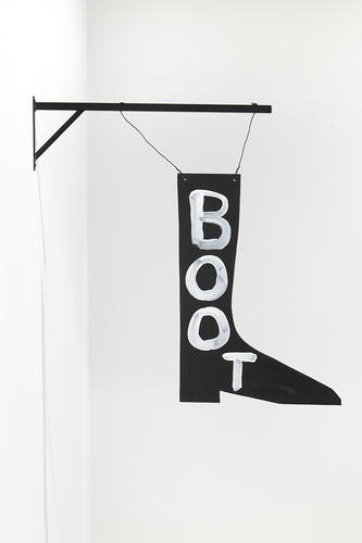 David Shrigley, (Boot - 2012), via Anton Kern