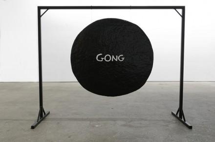 David Shrigley, Gong (2012) via Anton Kern