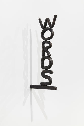 David Shrigley, Words (2) (2012), Anton Kern