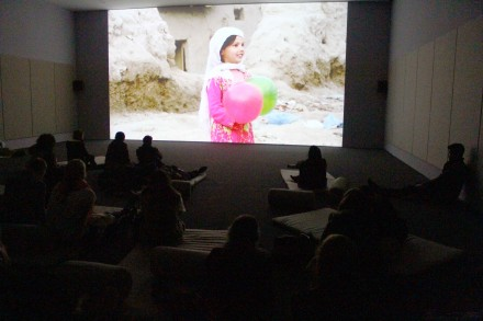 Francis Alÿs, REEL-UNREEL (Installation View) Photo by Elene Damenia