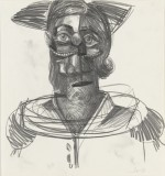 George Condo, Study for The Jester via MoMA