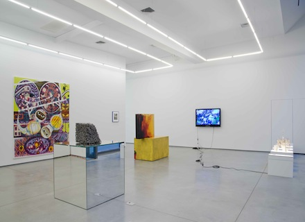 Black Cake, Installation view at 47 Wooster Street, image via Team Gallery, New York