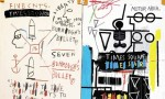 Jean-Michel Basquiat, Five Fish Species, via The Guardian