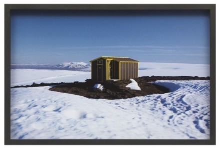 Olafur Eliasson, The hut series (2012), via neugerriemschneider