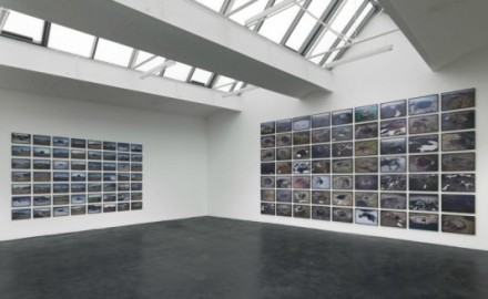 Olafur Eliasson, Volcanoes and Shelters (Installation View), via neugerriemschneider