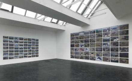 Olafur Eliasson, Volcanoes and Shelters (Installation View), via neugerriemschneider