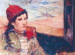 Paul Gaugin, Femme devant une fenêtre ouverte