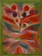 "Paul Klee, ""Feather Plant"" (1919), via Bloomberg"