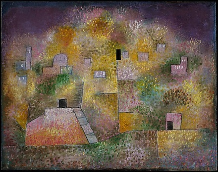 Paul Klee, Oriental Pleasure Garden (1925), via Metropolitan Museum of Art