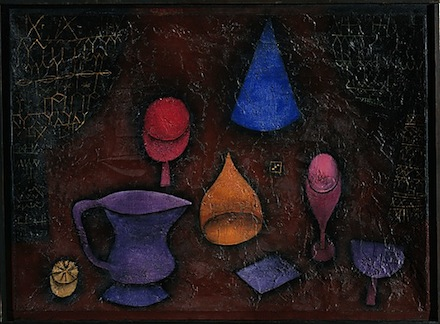 Paul Klee, Still Life (1927), via Metropolitan Museum of Art
