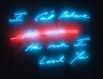 Tracey Emin I Can't Believe How Much I Loved You, via ArtNews