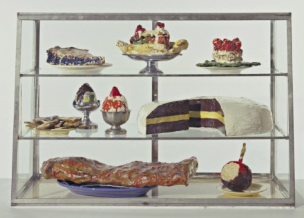 Claes Oldenburg, Pastry Case (1961-62), via Guggenheum Bilbao