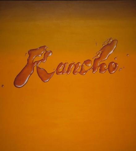 Ed Ruscha, Rancho (1968), via MoMA