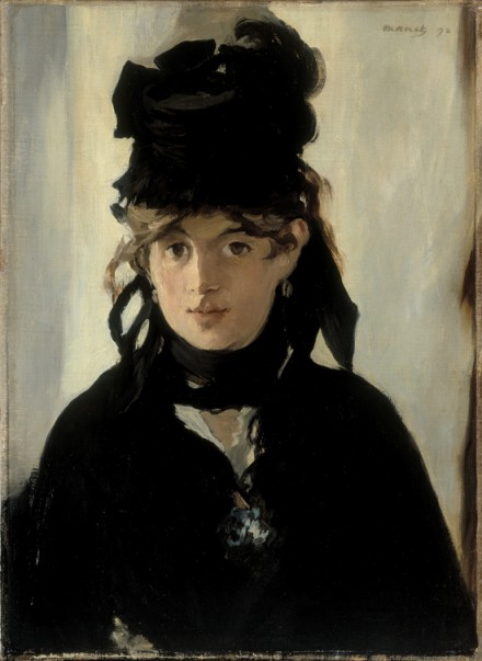 Édouard Manet, Berthe Morisot with a Bouquet of Violets (1872), via Royal Academy of Arts