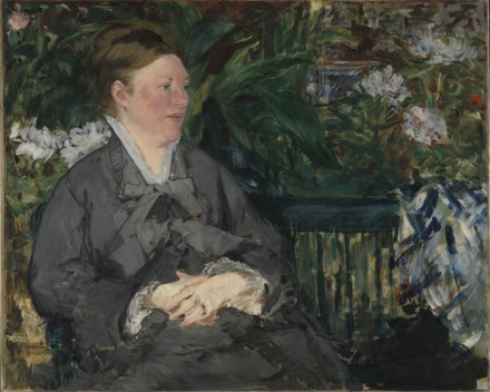 Édouard Manet, Mme Manet in the Conservatory (1879), via Royal Academy of Arts
