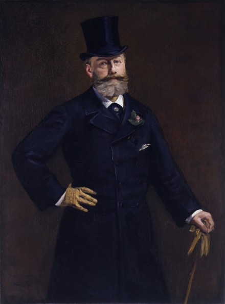 Édouard Manet, Portrait of M. Antonin Proust (1880), via Royal Academy of Arts