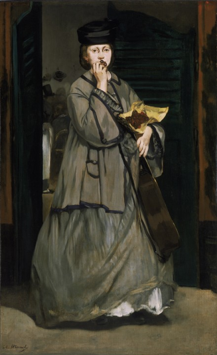 Edouard Manet, 'Street Singer', 1862_royal academy of arts_portraying life
