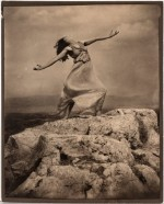 Edward Steichen, Thérese Duncan on the Acropolis (1921), via The New York Times