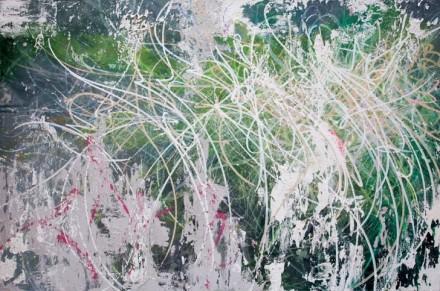 José Parlá, Untitled (2012), via Haunch of Venison