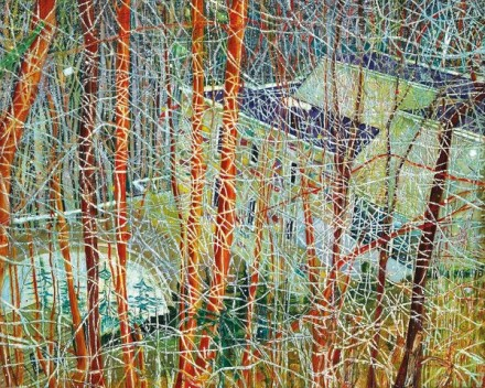 Peter Doig, Architect's Home in the Ravine (1991), via Christie's
