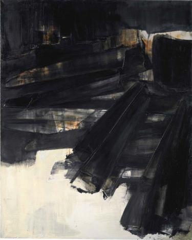 Pierre Soulages, Peinture (1961), via Christie's