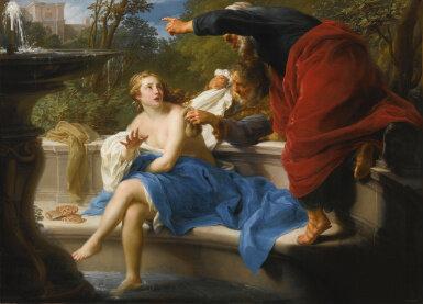Pompeio Batoni, Susanna and The Elders, via Sotheby's
