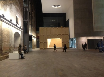 Richard Wentworth, Black Maria (Installation View),via King's Cross London